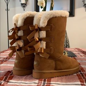 UGG Bailey Bow Tall Boot Women's Size 8 NEW